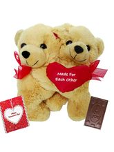Valentine Cute Huggable Couple Bear