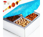 Blue 4 Dryfruit Box, 800 gms