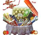 Rakhi Chocolate Bonanza - Chocolate Basket