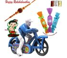 Kids Rakhi Hamper With Crazy Rider