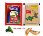 Set of 2 Best Quality Gulal Pouches with Holi Sweets