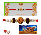 Om-Rudraskh Blessings - GAIR11, only rakhi