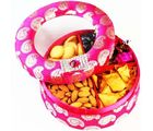 Pink Round Hamper Box