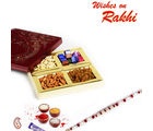 Festive Box with Dry fruits and Chocolates