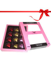 Super Colorful 12pc Heart Collection– Chocholik Luxury Chocolates