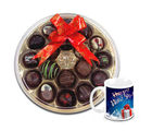 Chocholik A Box Of Wishes Chocolates With New Year Mug - Belgium Chocolates