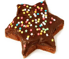 Star Chocolate Cake