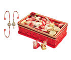 Golden Red Choco Basket