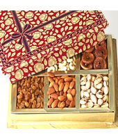 6 Partition Dryfruit Box