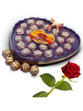 Little India Cherir 24 Pc. Chocolaty Wafer Balls Valentine Gift