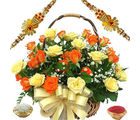 Finest Roses Basket