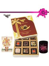 Chocholik 9pc Special Love Combo Wishes With Mug A...