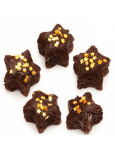Chocolate Star Cake Bites