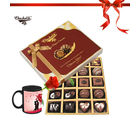Chocholik 20pc Adorable Choco Surprise With Mug - Belgium Chocolates