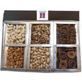 6 In 1 Dry Fruit Box Gift Hamper (750 gm)