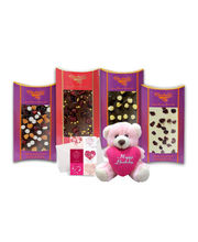 Chocholik Belgium Chocolate Gifts - Flavourful Chocolate Bars With A Cute Teddy