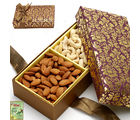 2 Partition Dryfruit Box