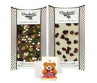 Chocholik Magical Surprises Of White & Dark Chocolate Bars With Sorry Card