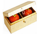 Ghasitaram Golden Double Laddoo Box