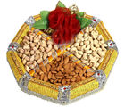 Yellow Dryfruit Tray (450 gm)