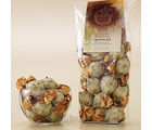 20 pc. Dark Chocolate French Vanilla Truffle Gems Bag (7.0 Oz)