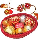 Assorted Chocolates Bowl, 100 gm