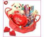 Cuteness of Lovely Choco Basket