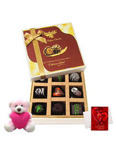 Chocholik Sweet Assortment Of Drak Chocolate Treat...