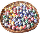 Round Chocolates Cane Basket (250 gm)