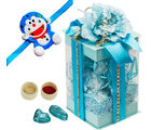 Blue Bloom Choco Gift
