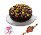 Sweet cake with Rakhi gift