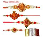 An Auspicious Rakhi Combo Of Four Rakhis
