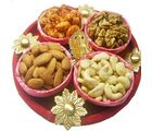 Mix Dry Fruit Cane Thali