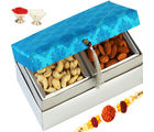 Blue Kaju Badam Box, 500 gms