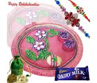 Rakhi Thali With Chocolates N Dryfruits