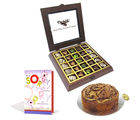 Chocholik Belgium Chocolate Gifts - Totally Chocolaty Connoisseur with Sorry Card