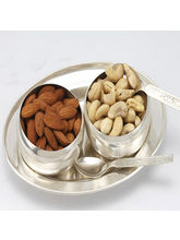 Dryfruits-Silver Bowls Set, only set