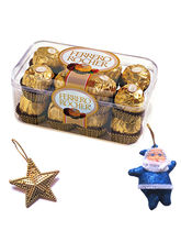 Ferrero Rocher 16 Pcs With Hanging Santa & Star