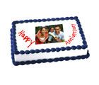 1kg Anniversary Photo Cake Eggless