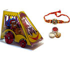 Mini Bus of Chocolates - Rakhi Gift for Brother