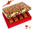 Rakhi With Roasted almond chocolate box