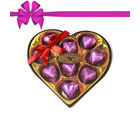 Chocholik's Classic Heart Shape Nicely Decorated Chocolates
