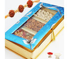 Blue Dryfruits Hamper Box, 300 gms