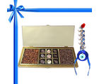 Wonderful Collection Of Almond, Chocolates And Raisin With Combo From Chocholik Belgium Gifts