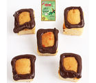 Mawa Chocolate Square Cake Bites