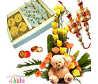 Cute N Sweet Rakhi Hamper