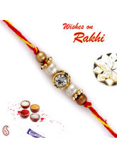 Mauli Thread crystal Rakhi, only rakhi