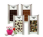 Chocholik Collection Of Yummy Chocolates Bars With Teddy and Rose