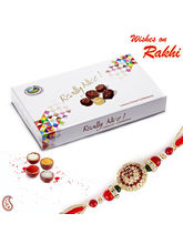 Choco Swiss Cocoa chocolate box with Rakhi and Tilak combo