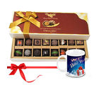 Chocholik Seasonal Delights Gift Box With New Year Mug - Belgium Chocolates
